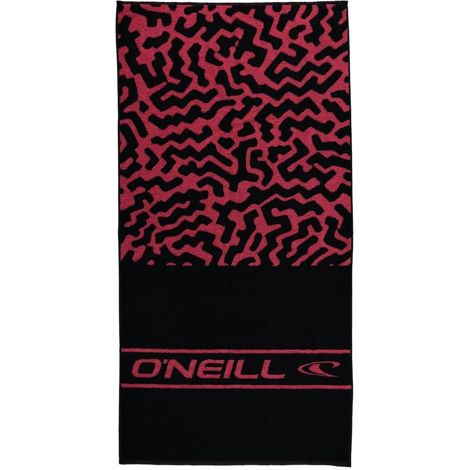 O'Neill Handtuch »Sand Castle« in Pink gemustert