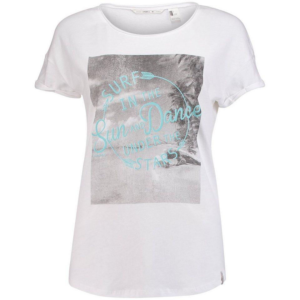 O'Neill T-Shirt kurzärmlig »Crew« in weiß-blau
