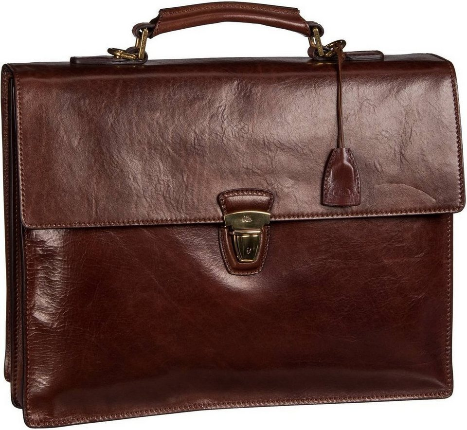 The Bridge Story Uomo Business Ledertasche in Braun