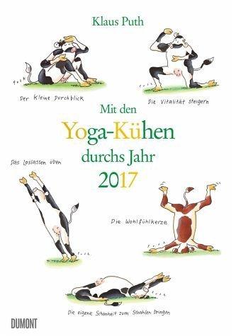 Kalender »Mit den Yoga-Kühen durchs Jahr 2017«