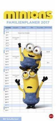 Kalender »Minions Familienplaner - Kalender 2017«