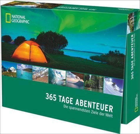 Kalender »365 Tage Abenteuer (immerwährender Kalender)«