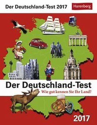 Kalender »Der Deutschland-Test Wissenskalender 2017«
