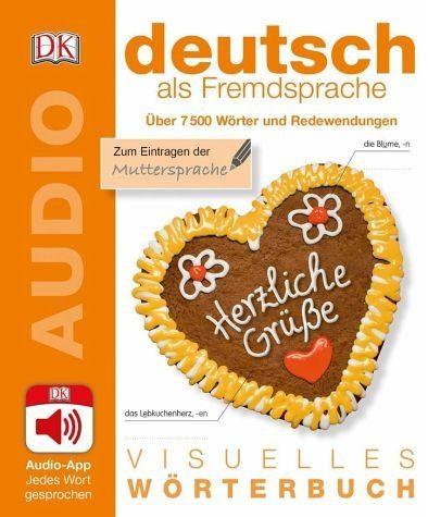 Broschiertes Buch »Visuelles Wörterbuch Deutsch als Fremdsprache«