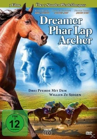 DVD »Dreamer - Phar Lap - Archer - 3 Pferde mit dem...«