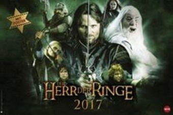 Kalender »Der Herr der Ringe Broschur XL - Kalender 2017«