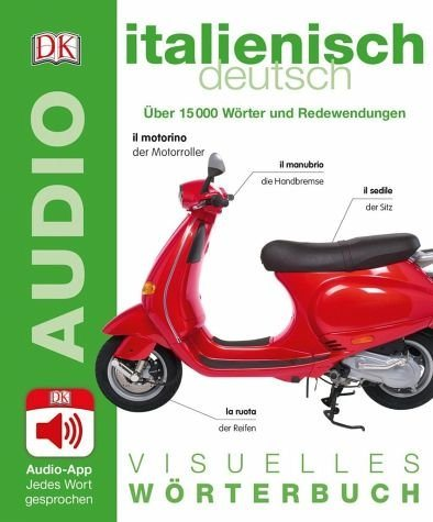 Broschiertes Buch »Visuelles Wörterbuch Italienisch Deutsch«