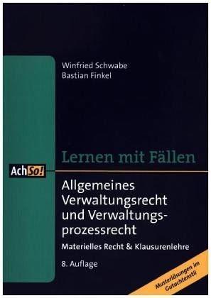 Broschiertes Buch »Allgemeines Verwaltungsrecht und...«