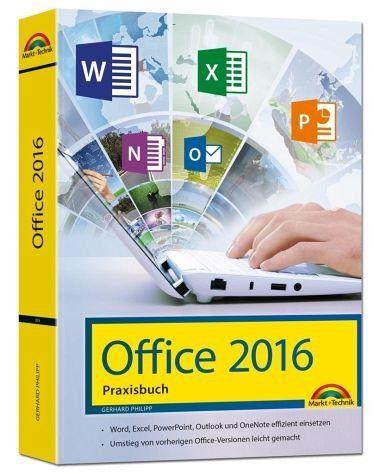 Gebundenes Buch »Office 2016 - Das Praxishandbuch«