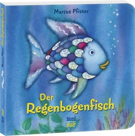 Buch mit Papp-Einband »Der Regenbogenfisch«