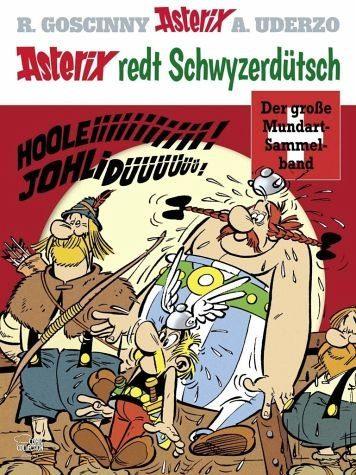 Gebundenes Buch »Asterix redt Schwyzerdütsch«