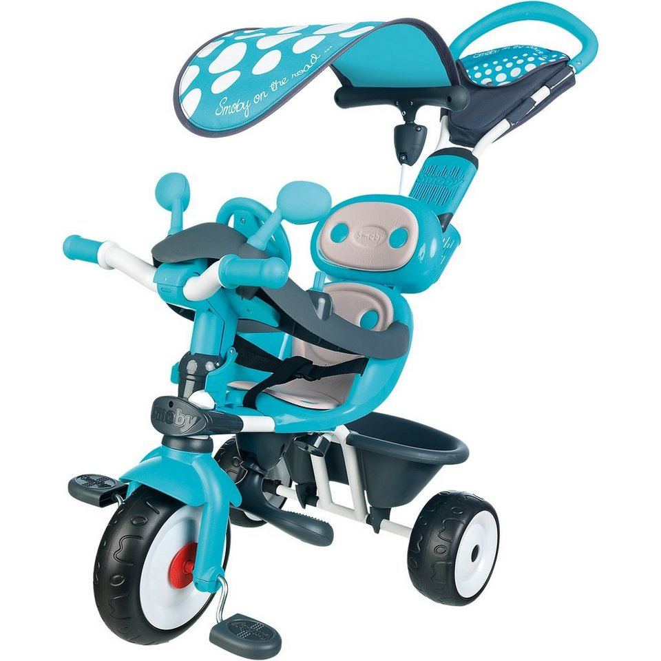 Smoby Dreirad Baby Driver Komfort, blau in blau