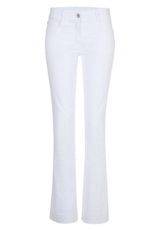 BRAX Jeans »MILA BOOT ART« in WHITE