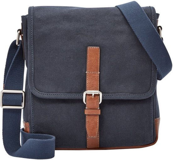 Fossil Umhängetasche »DAVIS CITY BAG«, Crossbody Bag mit gepolstertem Tabletfach