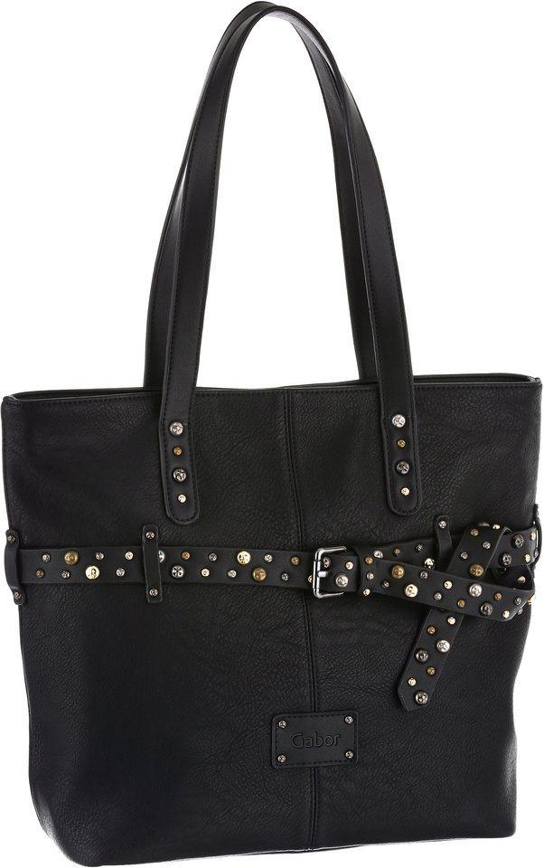 Gabor Shopper »SINA« in schwarz