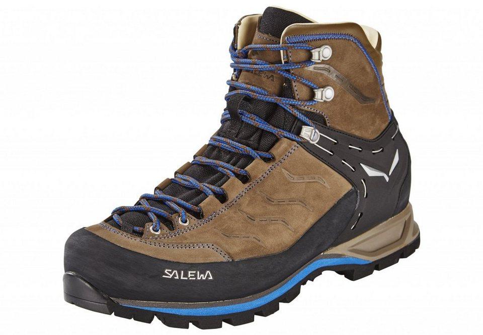 Salewa Kletterschuh »MTN Trainer Mid L Alpine Approach Shoe Men« in braun