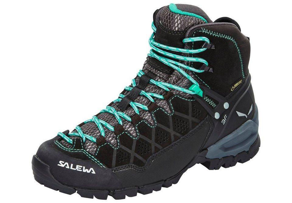 Salewa Kletterschuh »Alp Trainer Mid GTX Hiking Shoes Women« in schwarz