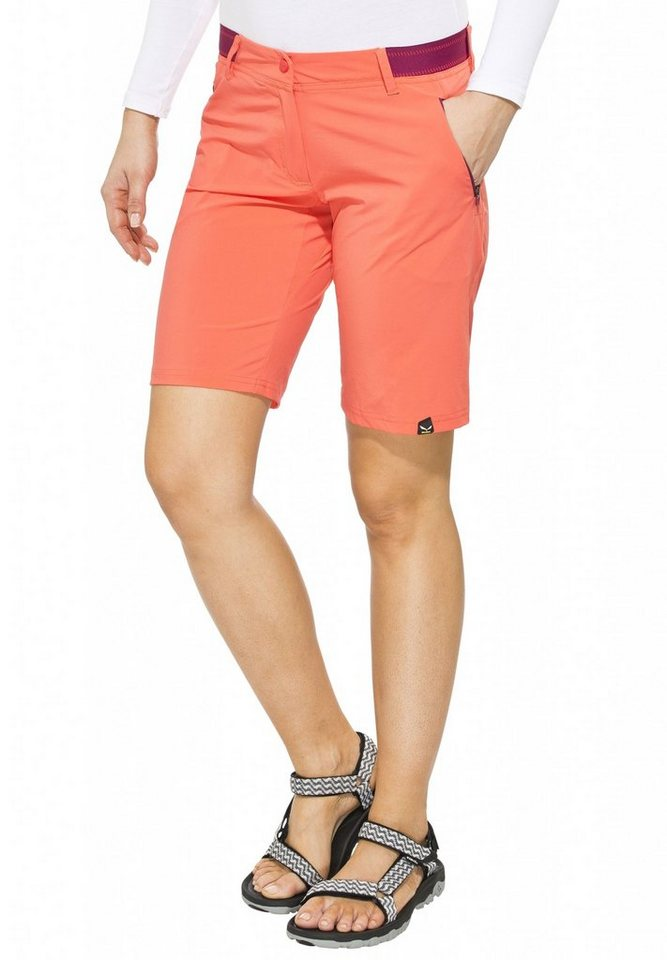 Salewa Outdoorhose »Pedroc Bermuda DST Shorts Women« in rot
