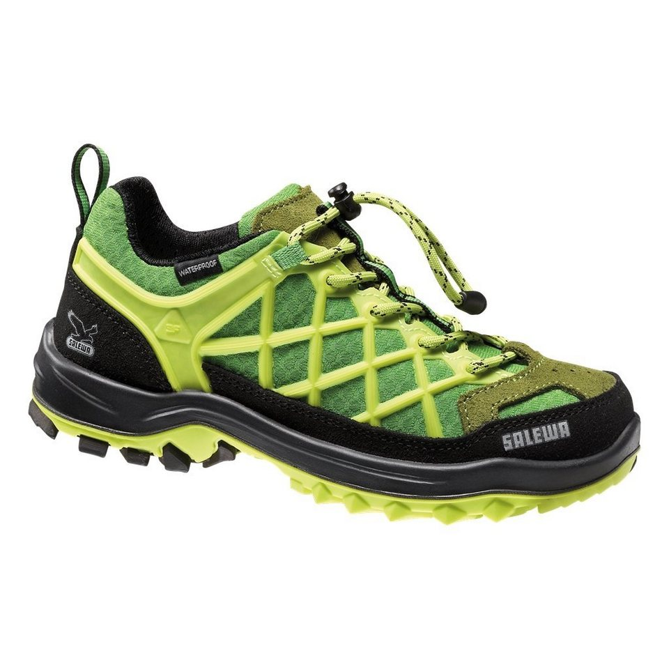 Salewa Kletterschuh »Wildfire Waterproof Shoes Junior« in grün