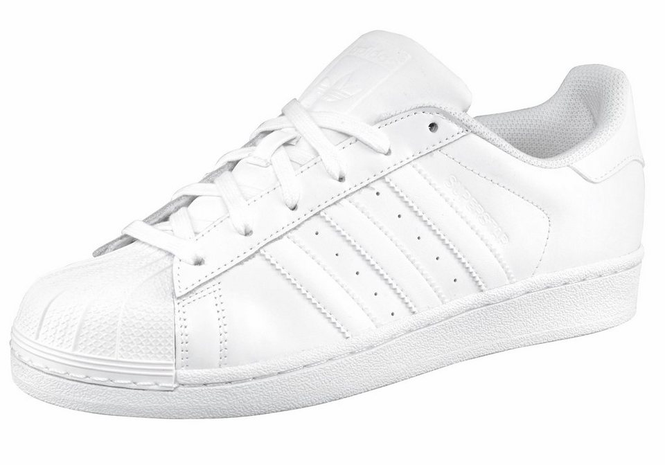 adidas Originals »Superstar W« Sneaker in weiß-weiß