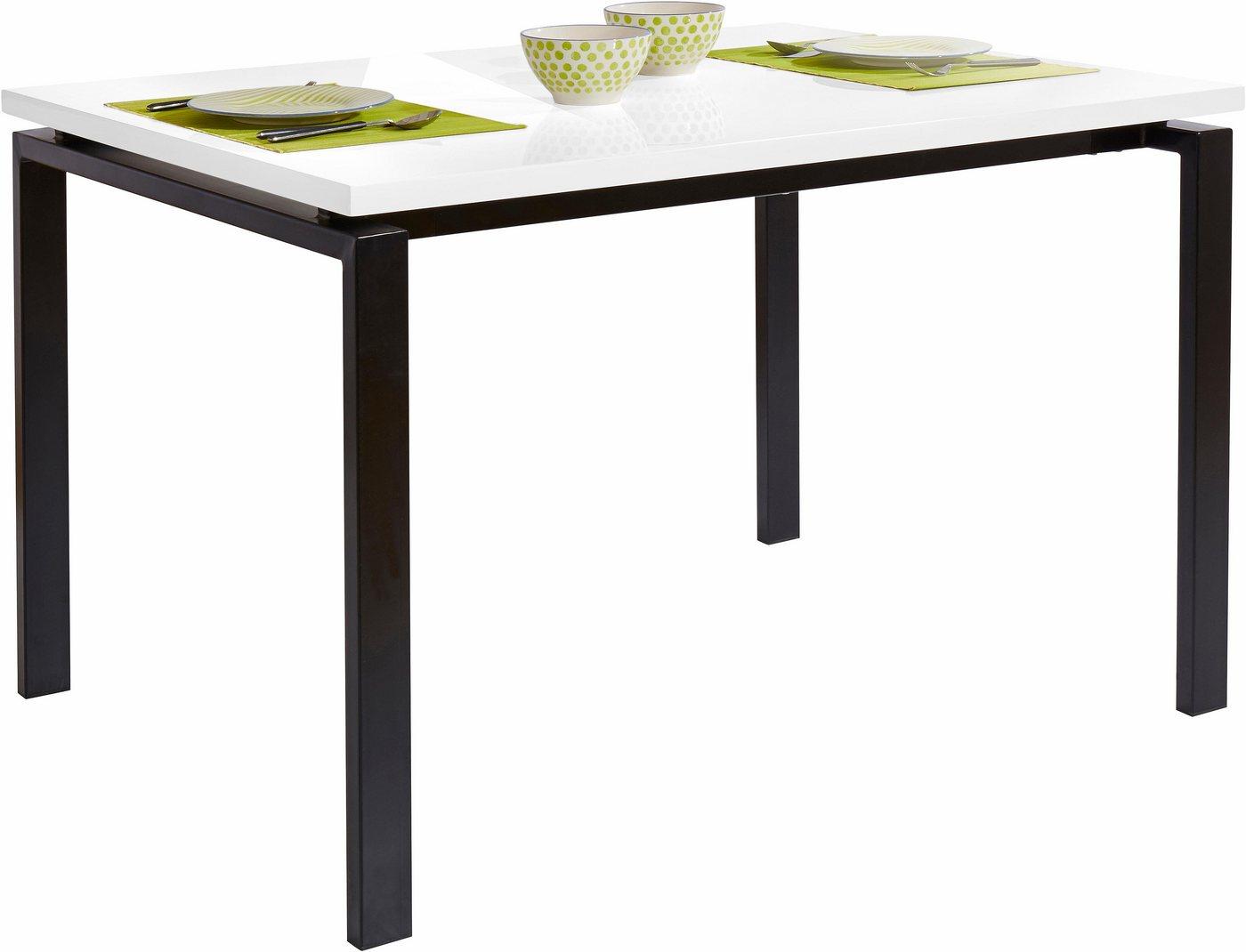 20 sparen esstisch mit metallgestell ab 199 99. Black Bedroom Furniture Sets. Home Design Ideas