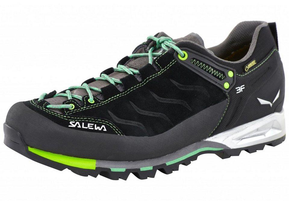 Salewa Kletterschuh »MTN Trainer GTX Alpine Approach Shoe Men« in schwarz