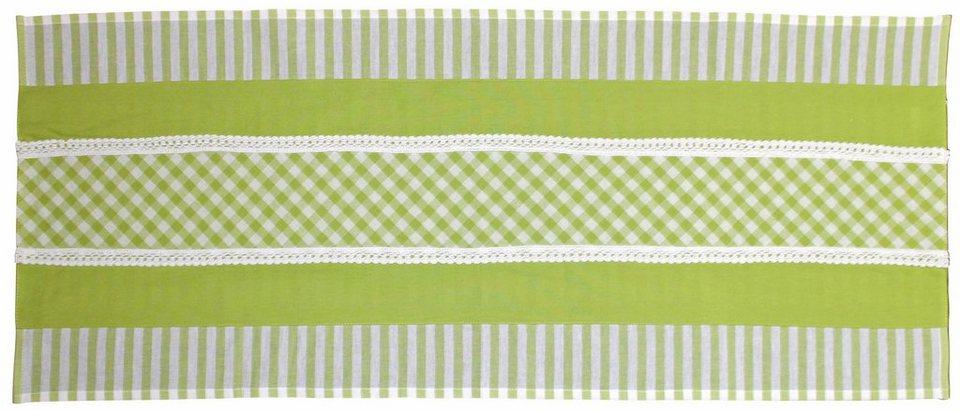 Tischläufer, Hossner, »Alpsee« in grün