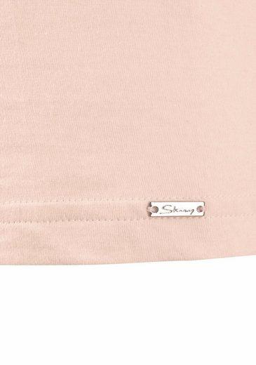 Skiny Basic T-shirt With Round Neck