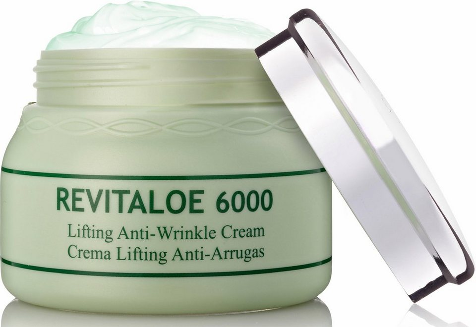 Canarias Cosmetics, »Revitaloe 6000«, Straffende Anti-Falten Creme in weiß