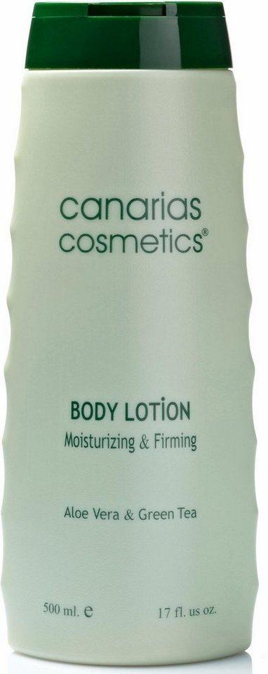 Canarias Cosmetics, »Dermo Aloe«, Feuchtigkeitsspendende und straffende Bodylotion