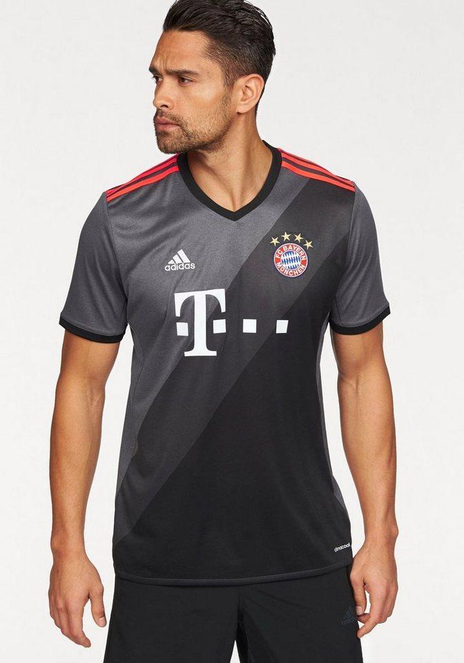 adidas Performance Trikot »FC BAYERN AWAY JERSEY MAN« in grau-schwarz