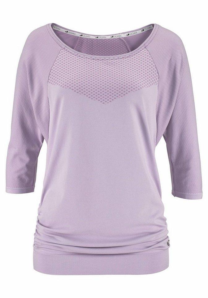 Ocean Sportswear Yogashirt in flieder