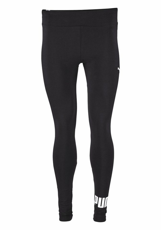 PUMA Leggings »ESS Leggings No.1 Logo« in schwarz