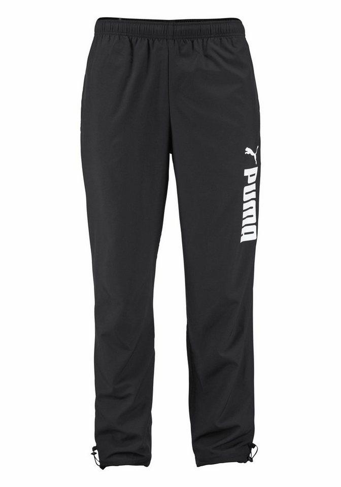 PUMA Sporthose »Woven Pant« in schwarz