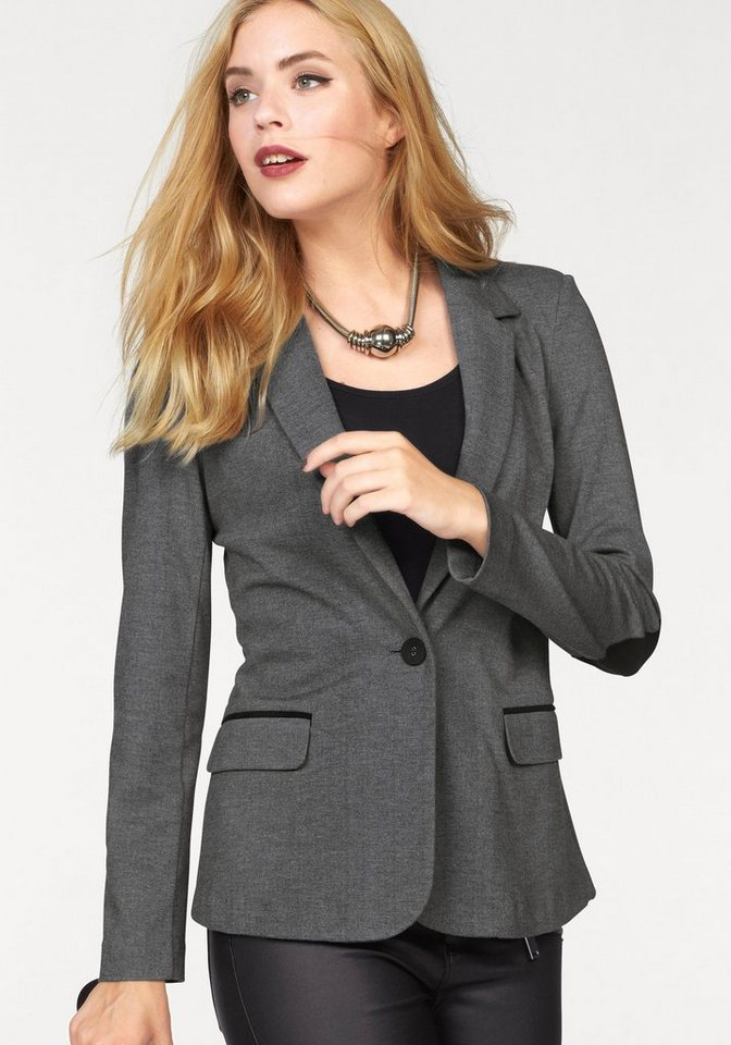 Vero Moda Blazer »CASSY« in grau-meliert