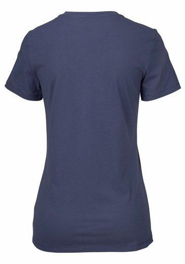 SCHIESSER Basic T-Shirt mit Rundhalsausschnitt und Knopfleiste