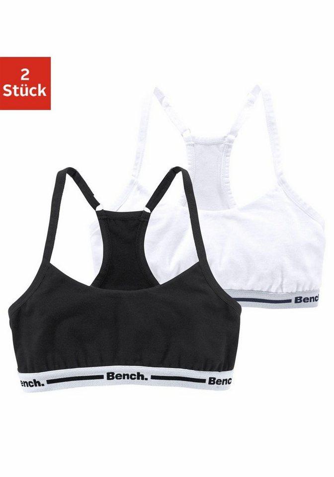 Bench Bustier (2 Stück) in schwarz + weiß