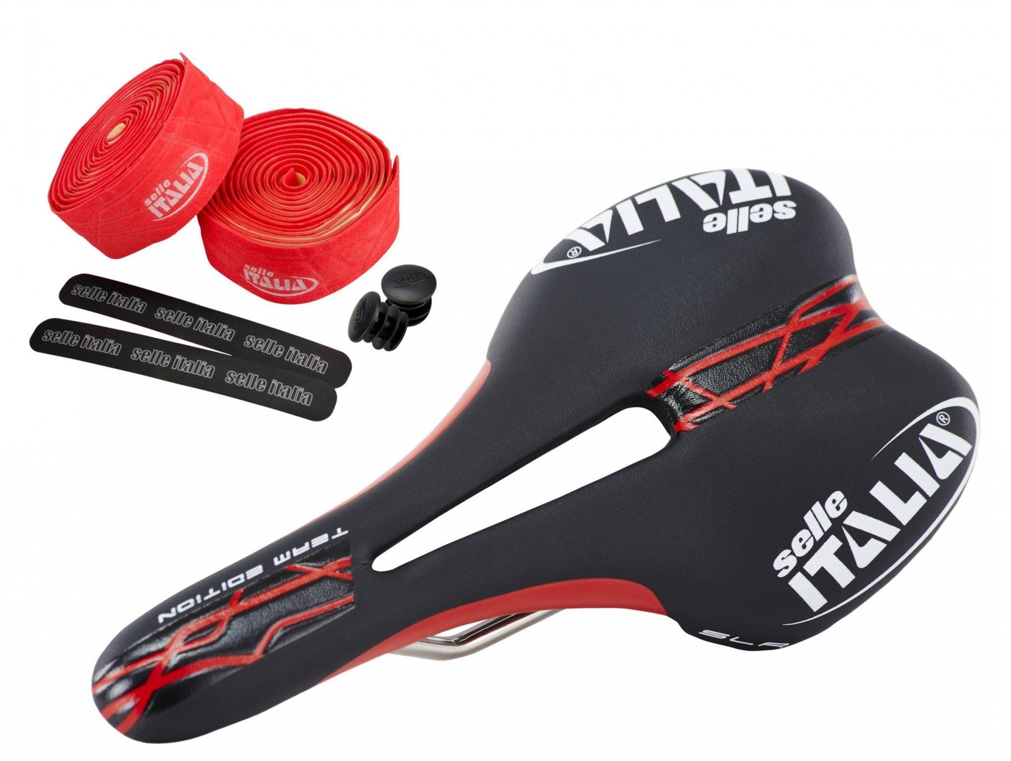 Selle Italia Fahrradsattel »SLR Team Edition Flow Set«