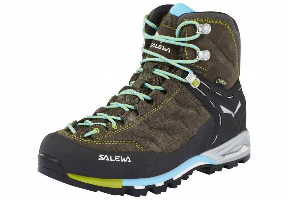 Salewa Kletterschuh »MTN Trainer Mid GTX Alpine Approach Shoe Women« in braun