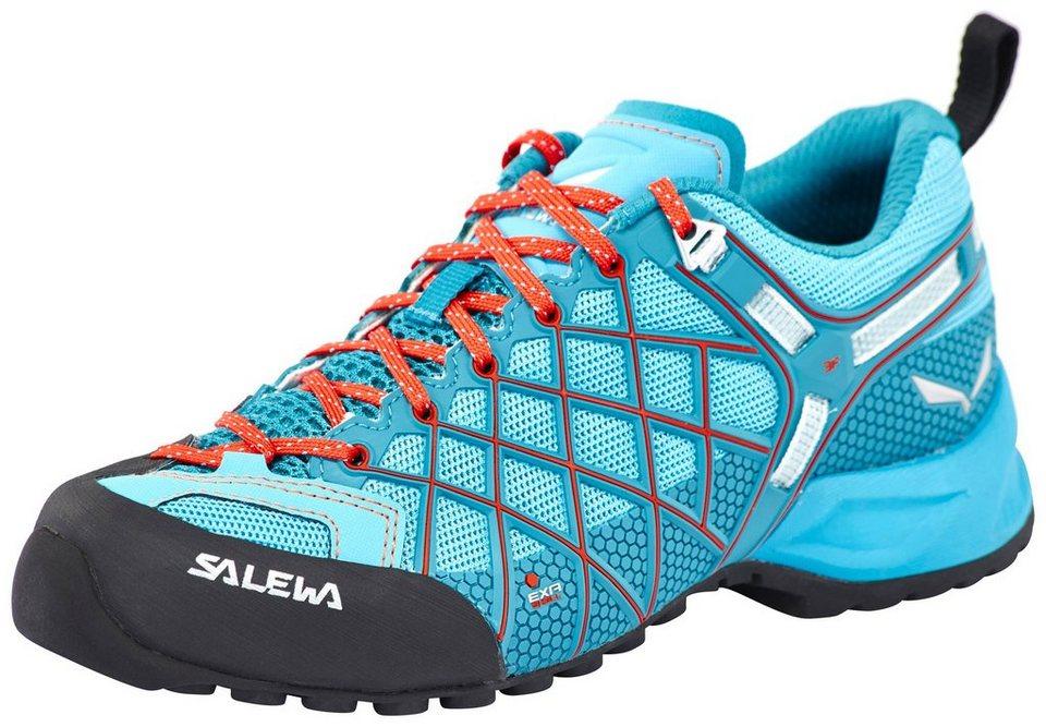 Salewa Kletterschuh »Wildfire Vent Approach Shoes Women« in blau