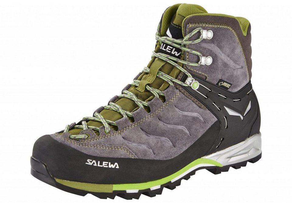 Salewa Kletterschuh »MTN Trainer Mid GTX Alpine Approach Shoe Men« in grau