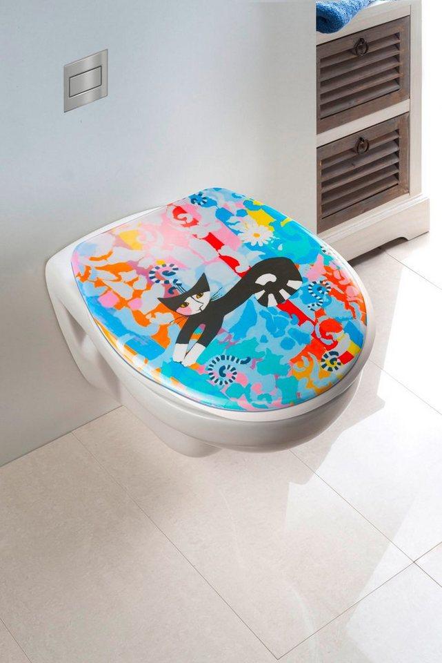 WC-Sitz »Rosina Wachtmeister« in bunt