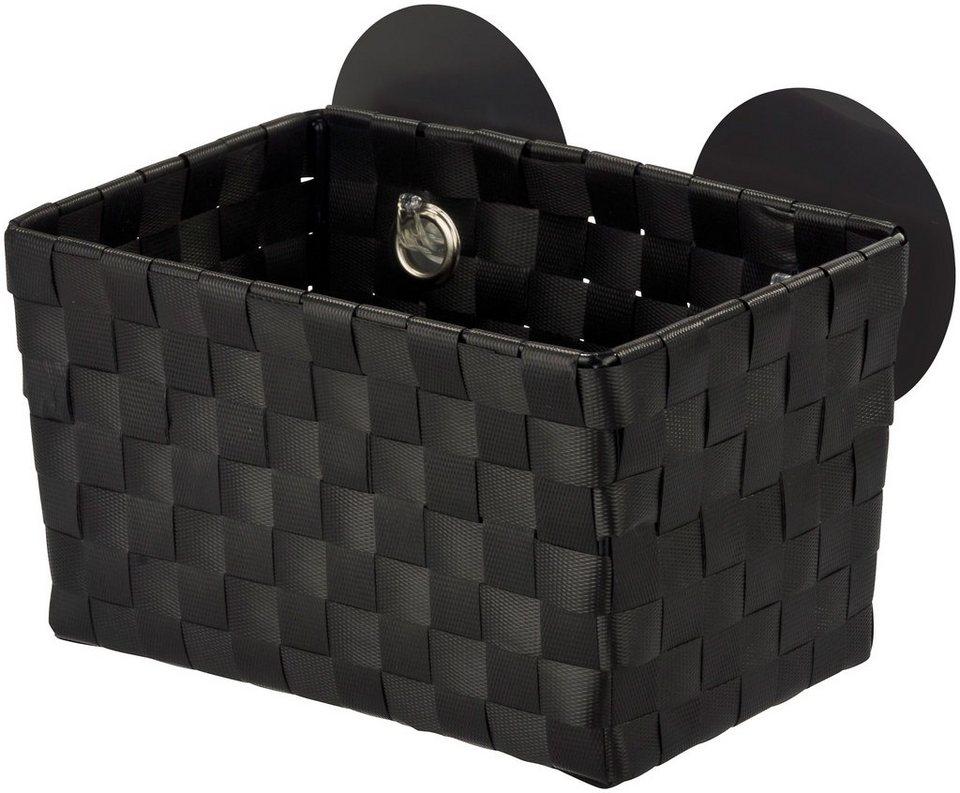 Aufbewahrungsbox »Fermo Black« in schwarz