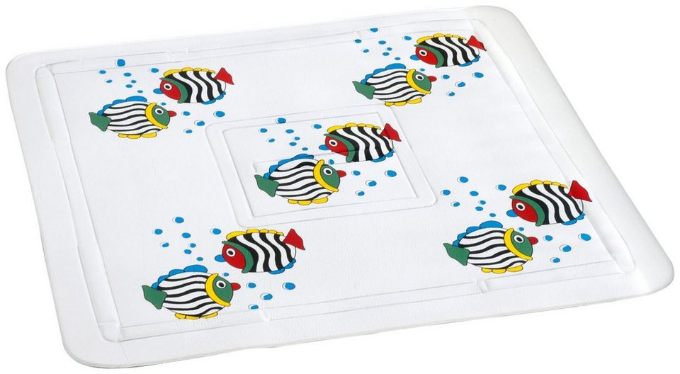 Duscheinlage »Fisch« in weiß