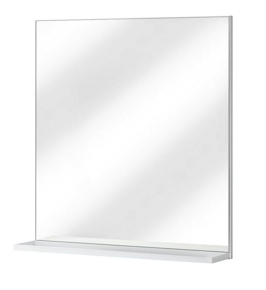 Spiegel / Badspiegel »Maxi 2« Breite 61 cm, mit Ablage in weiß