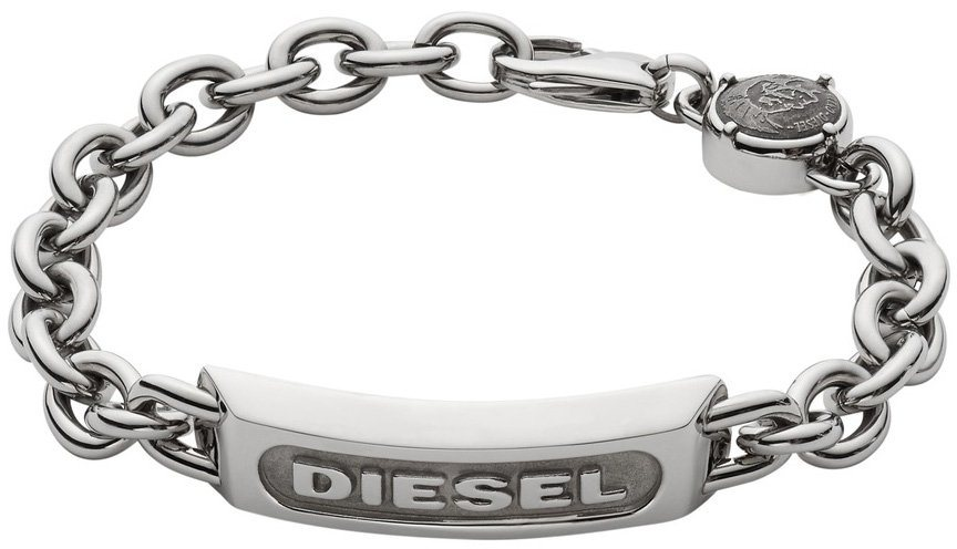 Diesel Jewelry Armband, »Foundry, DX0951040« in silberfarben
