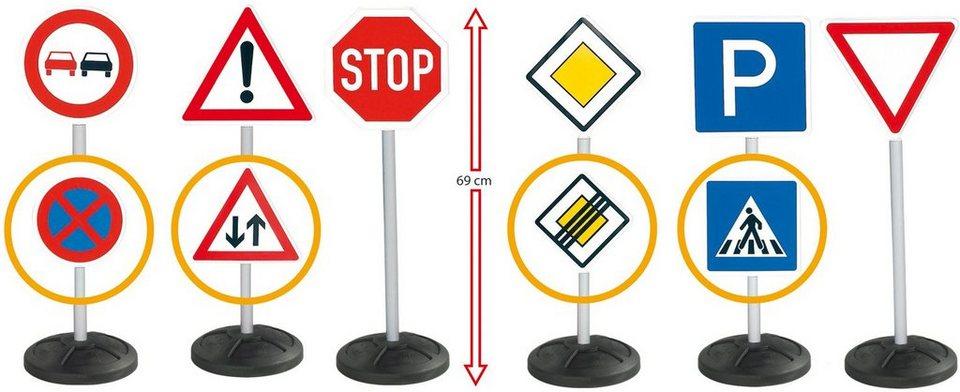 BIG Kinder Verkehrszeichen, »BIG Signs Mega Set«