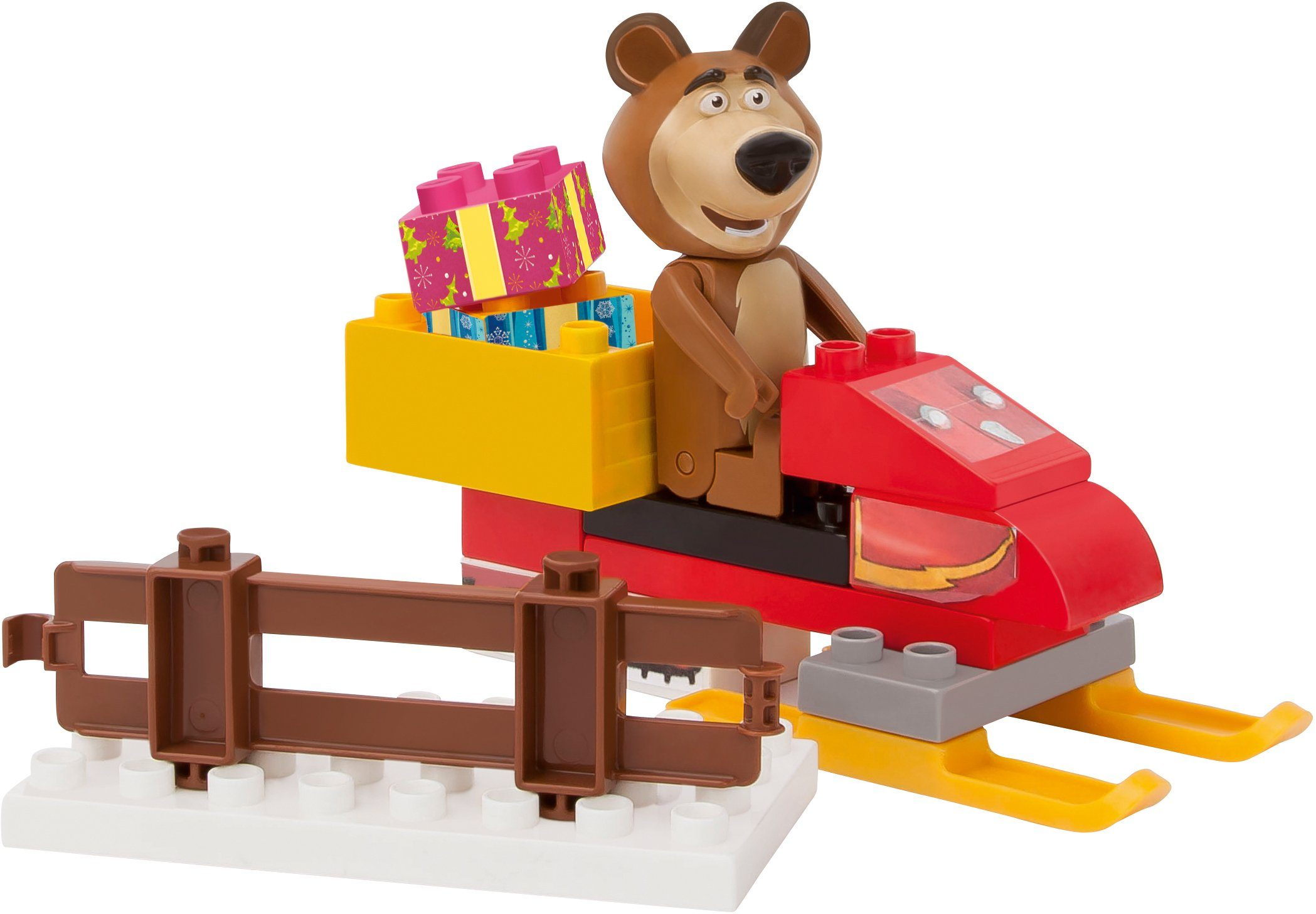 BIG Bausteinespielset, »PlayBIG Bloxx Bear´s Snowmobile«