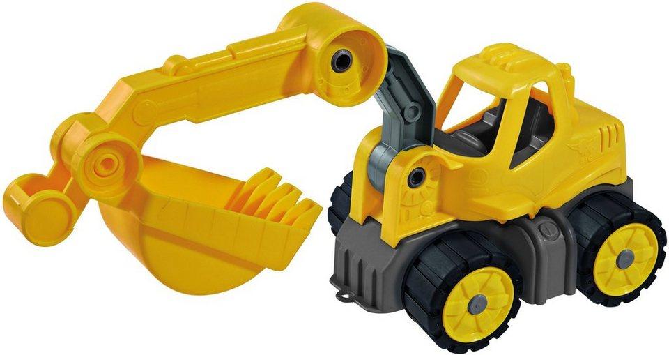 BIG Spielfahrzeug, »BIG-Power Worker Mini Bagger« in gelb