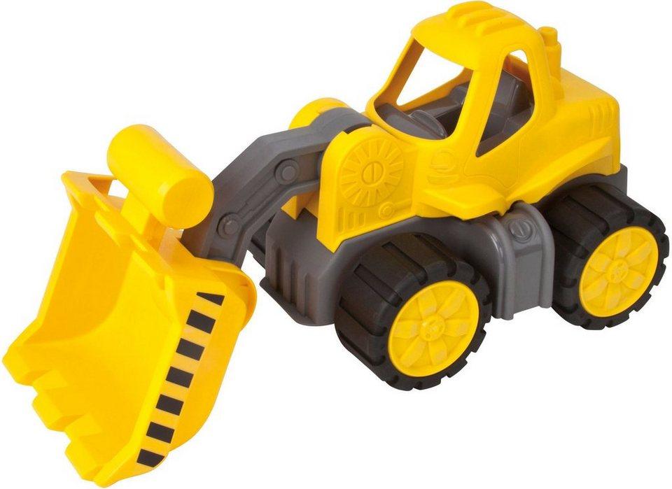 BIG Spielfahrzeug, »BIG Power Worker Radlader« in gelb